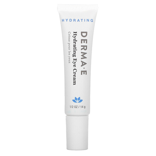 Derma E, Hydrating Eye Cream with Hyaluronic Acid & Green Tea, 1/2 oz (14 g)