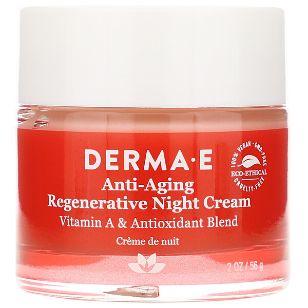 Derma E, Anti-Aging Regenerative Night Cream, 2 oz (56 g)