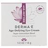 Derma E, Age-Defying Antioxidant Eye Creme, 1/2 oz (14 g)