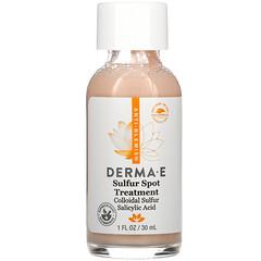 Derma E, Sulfur Spot Treatment, 1 fl oz (30 ml)