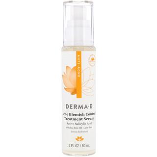 Derma E, Sérum de tratamiento para el control de las manchas de acné, 60ml (2oz.líq.)