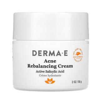 Derma E, крем против акне для восстановления баланса, активная салициловая кислота, 56г (2унции)
