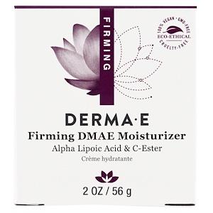 Derma E, Увлажняющее средство, придающее коже упругость, 2 унции (56 г) инструкция, применение, состав, противопоказания
