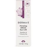 Отзывы о Derma E, Firming DMAE Eye Lift with Liftessence Peptides and Goji, 1/2 oz