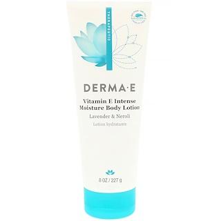 Derma E, Лосьон для тела, интенсивная терапия с витамином E, с натуральным ароматом, 8 жидких унций (236 мл)