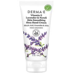 Derma E, Skin Smoothing Shea Hand Cream, Vitamin E, Lavender & Neroli, 2 oz (56 g)