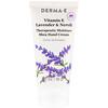 Derma E, 治療用保湿シアハンドクリーム、ビタミンE、ラベンダー&ネロリ、2 oz (56 g)