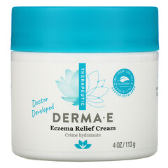 Derma E, 濕疹緩解霜,4 盎司(113 克)