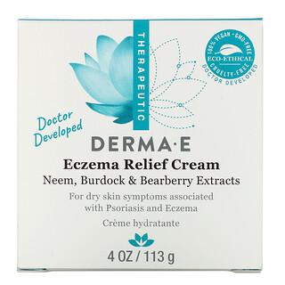 Derma E, ダーマE, ソルゼマクリーム, 4 oz (113 g)