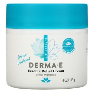 Derma E, كريم علاج الإكزيما، 4 أونصة (113 جم)