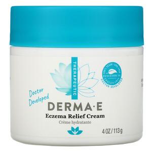 Дерма Е, Eczema Relief Cream, 4 oz (113 g) отзывы покупателей