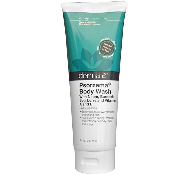 Derma E, Psorzema Body Wash, 8 fl oz (236 ml)