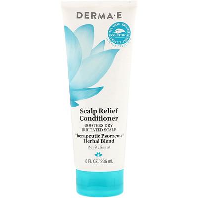 Купить Scalp Relief Conditioner, успокаивающий кондиционер для сухой раздраженной кожи головы, терапевтическая травяная смесь от Psorzema, 236мл (8жидк.унций)