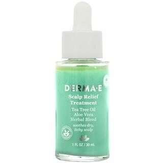 Derma E, Tratamiento de alivio del cuero cabelludo, 30ml (1oz.líq.)