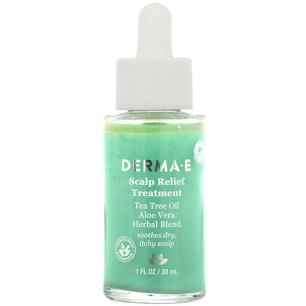 Derma E, مستحضر فروة الرأس، 1 أونصة سائلة (30 مل)