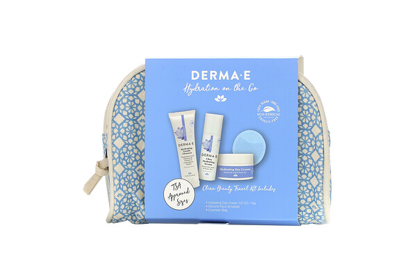Hydrating on the Go, Clean Beauty Travel Kit, 5 Piece Kit