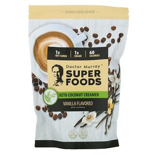 Dr. Murray's, Super Foods, Keto Coconut Creamer, Vanilla, 16 oz (453.5 g)
