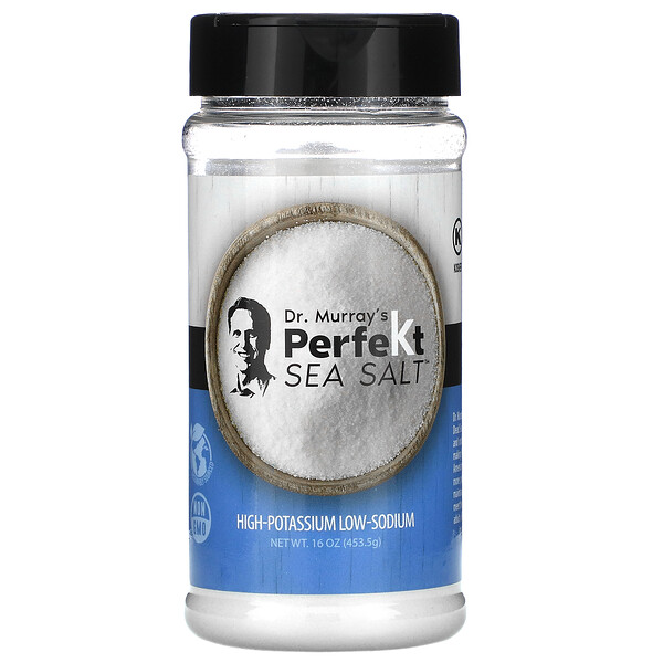 PerfeKt Sea Salt, Low Sodium, 16 oz (453.5 g)