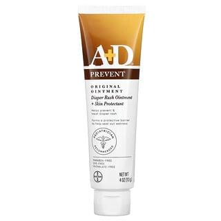 A+D, Original Ointment, Diaper Rash Ointment + Skin Protectant, 4 oz (113 g)