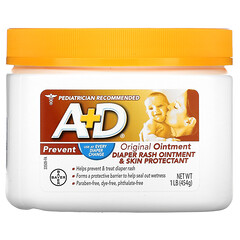 A+D, 原裝軟膏,尿布疹軟膏和護膚劑,1 磅(454 克)