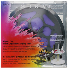Denco, 翻轉晾乾刷子整理器和乾燥架,1 件