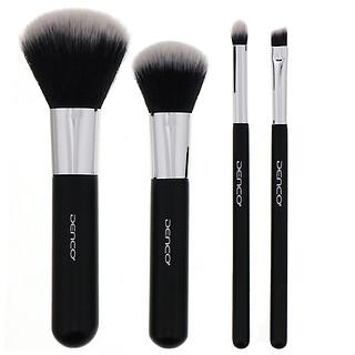Denco, Travel Brush Set, 4 Piece Set