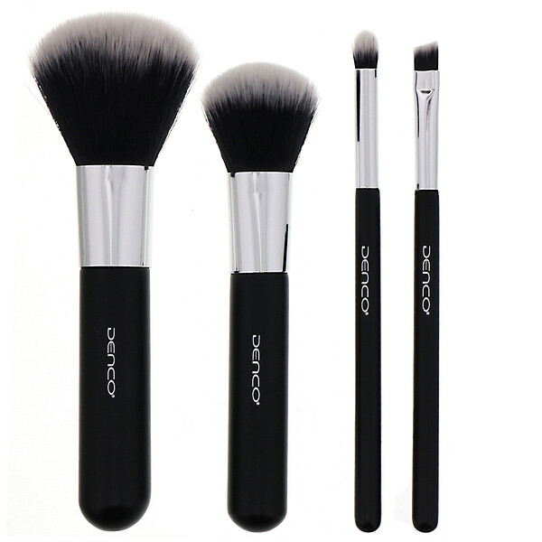 Travel Brush Set, 4 Piece Set
