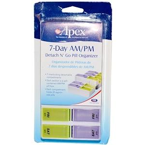Апекс, 7-Day AM/PM Detach N' Go, 1 Pill Organizer отзывы