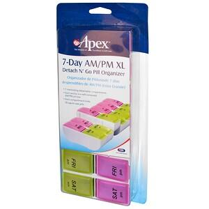 Апекс, 7-Day AM/PM XL, 1 Pill Organizer отзывы покупателей
