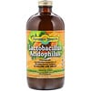Dynamic Health  Laboratories, Lactobacillus Acidophilus, Made with Papaya Puree, 16 fl oz (473 ml)
