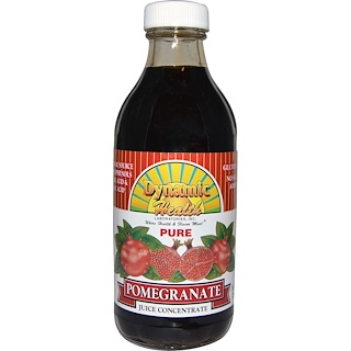 Dynamic Health  Laboratories, Pure Pomegranate, Juice Concentrate, 8 fl oz (237 ml)