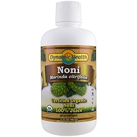 Organic Certified Noni, 100% Juice, 32 fl oz (946 ml) - фото