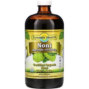 Динамик Хэлс Лабораторис, Certified Organic Noni 100% Juice, 32 fl oz (946 ml) отзывы