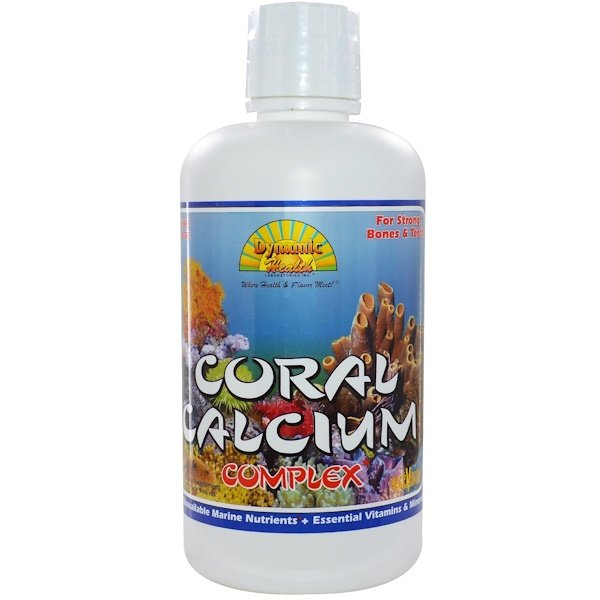 Dynamic Health  Laboratories, Coral Calcium Complex, 32 fl oz (946 ml) (Discontinued Item)