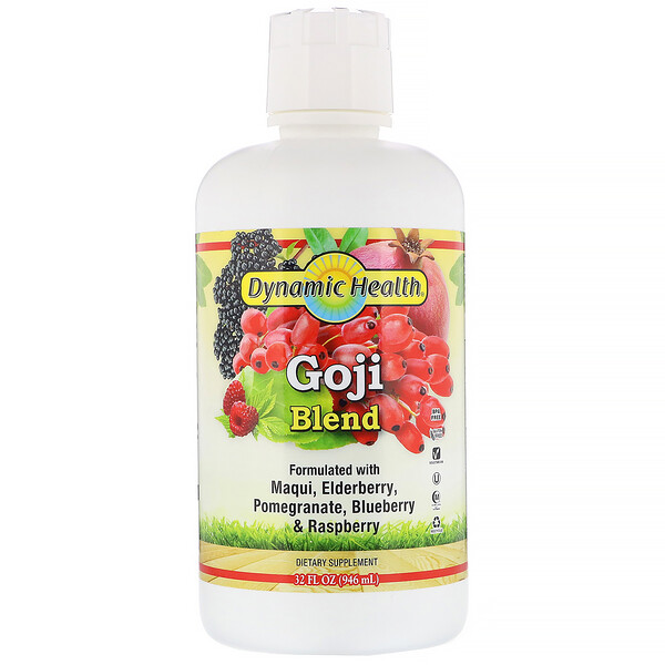 Dynamic Health  Laboratories, Goji Blend, 32 fl oz (946 ml) (Discontinued Item)