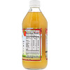 Dynamic Health  Laboratories, Raw Apple Cider Vinegar with Mother & Honey, 16 fl oz (473 ml)