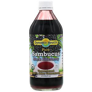 Динамик Хэлс Лабораторис, Pure Sambucus Black Elderberry, 100% Juice Concentrate, Unsweetened, 16 fl oz (473 ml) отзывы покупателей