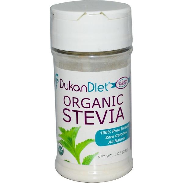 Dukan Diet, Organic Stevia, 1 oz (28 g) (Discontinued Item)