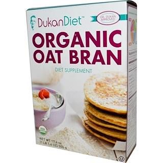 Dukan Diet, オーガニックオーツ麦ブラン, 17.6 oz (500 g)