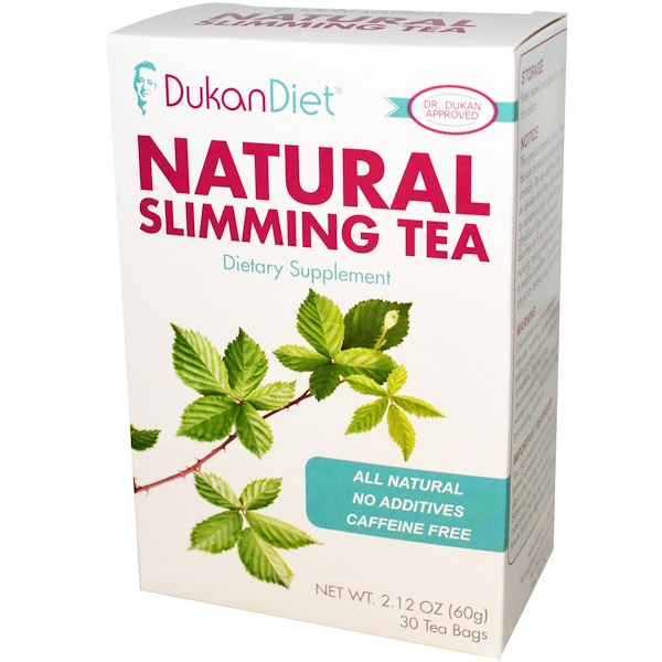 Dukan Diet, Natural Slimming Tea, 30 Tea Bags, 2.12 oz (60 g)
