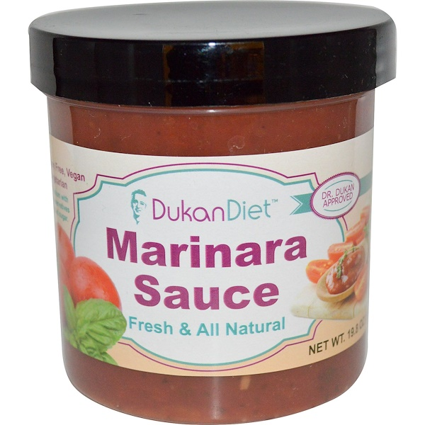Dukan Diet, Marinara Sauce, 19.8 oz (561 g) (Discontinued Item)