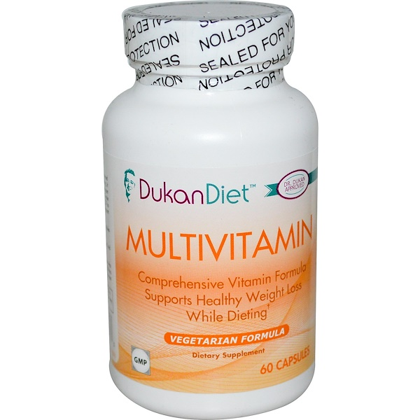 Dukan Diet, Multivitamin, 60 Capsules (Discontinued Item)