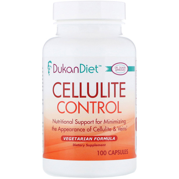 Dukan Diet, Cellulite Control, 100 Capsules (Discontinued Item)