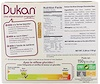 Dukan Diet, Oat Bran Orange Chocolate Bars, 6 Bars, (25 g) Each