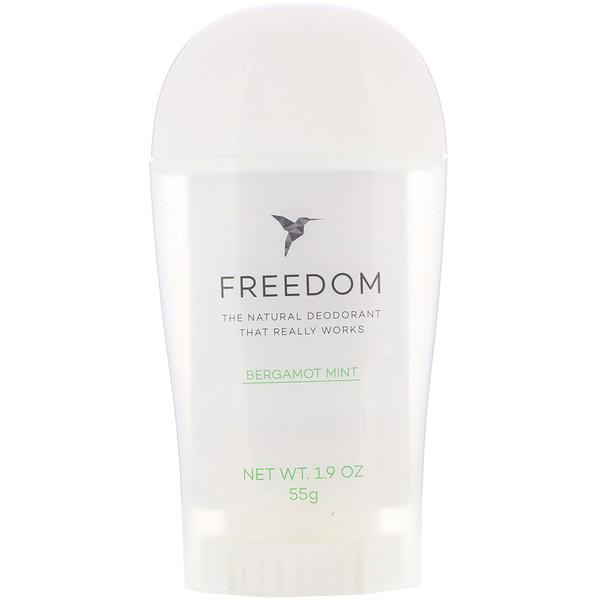 Desodorante, menta acuática, 1,9 oz (55 g)