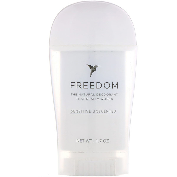 Freedom, Deodorant, Sensitive Unscented, 1.7 oz