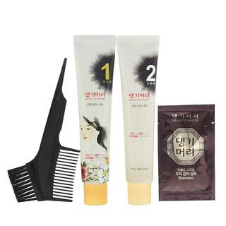Doori Cosmetics, Daeng Gi Meo Ri, Medicinal Herb Hair Color, Medium Brown, 1 Kit