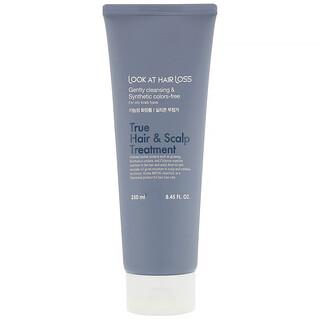 Doori Cosmetics, Look At Hair Loss, True Hair & Scalp Treatment, 8.45 fl oz (250 ml)