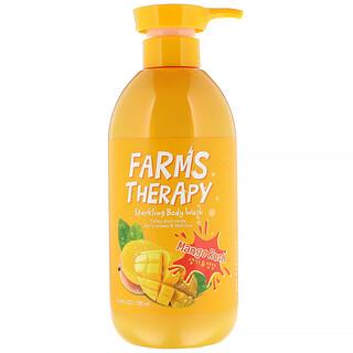 Doori Cosmetics, Farms Therapy, Sparkling Body Wash, Mango Rush, 23.6 fl oz (700 ml)