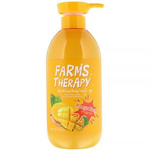 Doori Cosmetics, Farms Therapy, Sparkling Body Wash, Mango Rush, 23.6 fl oz (700 ml) отзывы покупателей